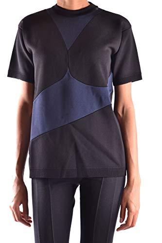 Prada Damen Mcbi15911 Schwarz Viskose T-Shirt