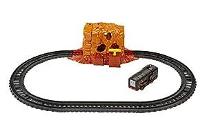 Thomas and Friends Circuito Explosión en la Mina, Pista de Tren de Juguete de la Locomotora Thomas, Juguetes Niños 3 Años (Mattel FJK24)