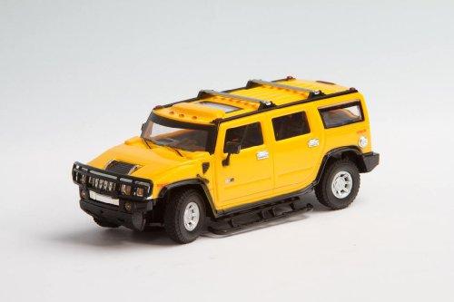 HQ Windspiration 50008105 RC: License Edition: Hummer H2, Ferngesteuertes Auto, gelb (Hummer H2 1 10)