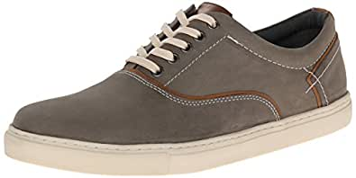 Steve Madden Men's Farside Grey Nubuck Sneakers - 10.5 UK