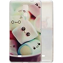 Prevoa ® 丨CUBOT P11 Funda - Colorful Silikon Protictive Funda Case para Cubot P11 Libre Andriod 3G 5,0 Pulgadas Smartphone - 1