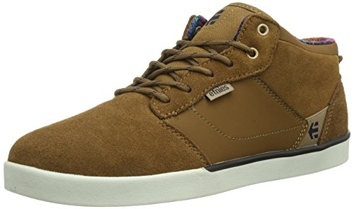 Etnies JEFFERSON MID SMU, Herren Skateboardschuhe, Braun (BROWN), 43 EU (Suede Cap Canvas)