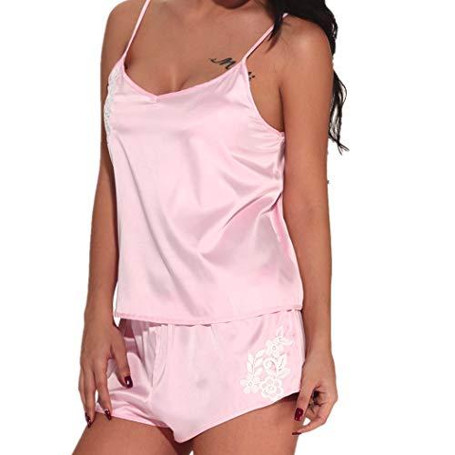 Kobay slip intimo sexy da donna in pigiama di pizzo con mutandine