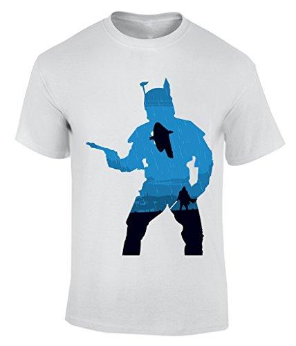 Avengers Blue T-Shirt Herren Weiß