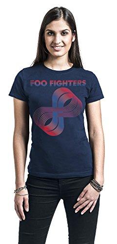 Foo Fighters Loops Girl-Shirt Navy Navy