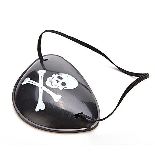KHFFJ Pirate Augenklappe Patch Augenmaske Augenmaske Für Erwachsene Lazy Eye Amblyopie Patch, Wie Das - Pirate Queen Für Erwachsene Kostüm