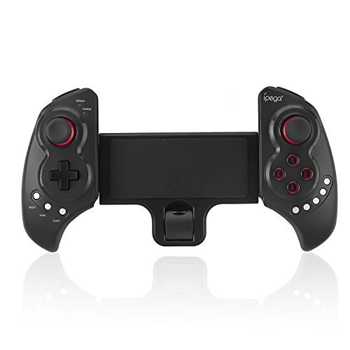 Stoga Gamepad Wireless, 9023 Controllo Wireless per Mobile Gamepad Wireless Ricaricabile per IOS iPhone iPod iPad Android Samsung HTC Moto e 10'Smartphone o Tablet PC