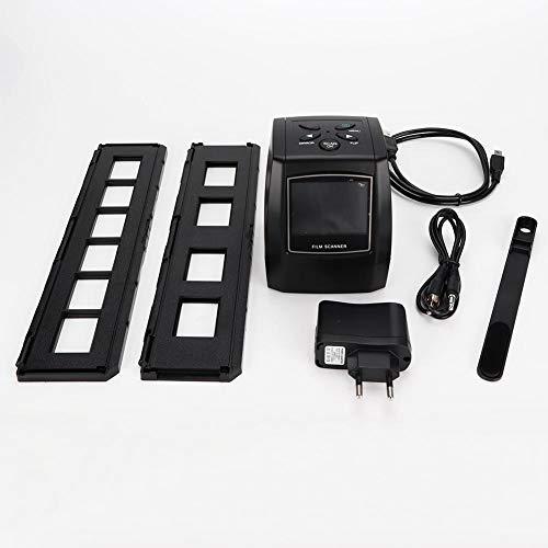 Wendry Filmscanner, hochauflösender 35-mm-Filmkonverter für Negativfotoscanner (EU-Stecker 100-240 V) Mini-Digitalfilm- und Diascanner Farbbildfilm-Negativ- und Dokumentenscanner - 512 Mb Mini Usb
