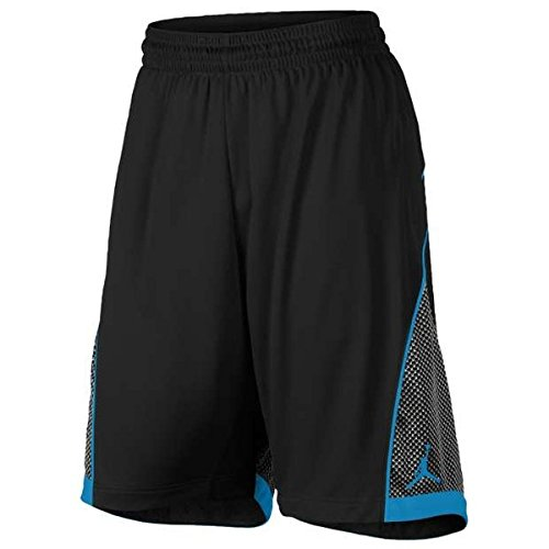 Jordan Big Boys (8-20) Dri-Fit Nike Flight Knit Basketball Shorts-Schwarz-Gro?