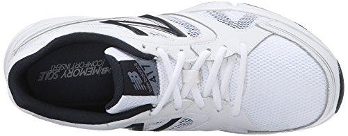 New Balance Men's MX417GG4 Training Shoe, White/Navy, 10 2E US White/navy