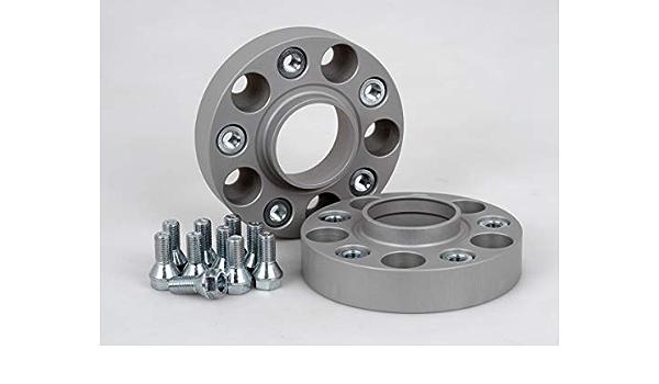 Spurverbreiterung Aluminium 2 Stück 30 Mm Pro Scheibe 60 Mm Pro Achse Inkl TÜv Teilegutachten Abe Auto