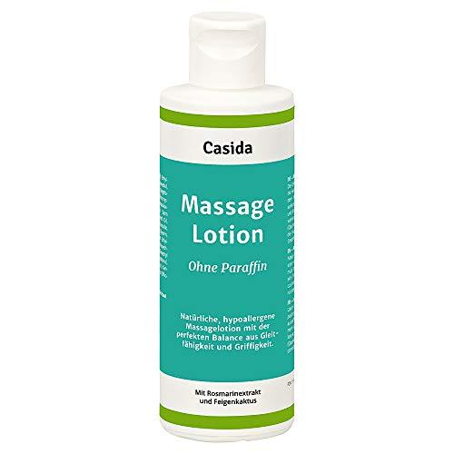 Massagelotion Natural ohne Paraffin - Natürliche, hypoallergene Massage Lotion ideal für Massagen...