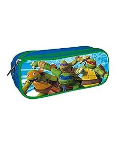 Las Tortugas Ninja, Estuche portatodo con Doble Cremallera