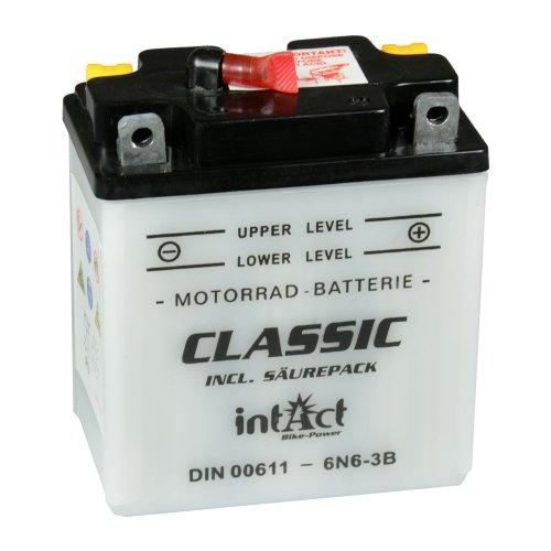 Preisvergleich Produktbild intact Bike-Power Classic 6V 6Ah 00611 6N6-3B