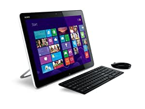 Sony VAIO Tap SVJ2022M1EWI 50,8 cm (50,8 cm Touch) All-in-One Design PC (Intel Core i3 3227U, 1,9 gHz, 4 GB RAM, 750 GB HDD, Intel HD 4000, NFC, Win 8) Bianco