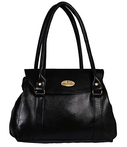 Fantosy women handbag (Black)(FNB-663)