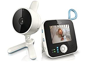 Philips Avent SCD610/00 Baby Monitor con Video Digitale, Bianco