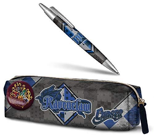 Aucun Estuche de lápices de Harry Potter - Ravenclaw + Pluma de Harry Potter - Ravenclaw 14 cm