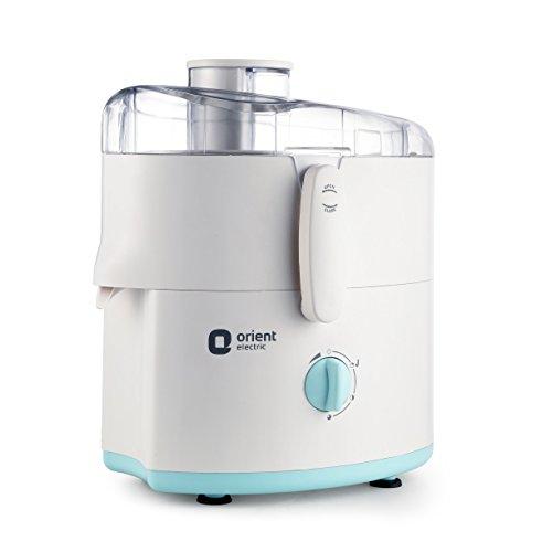 Orient Electric JMKK45B2 450 Watts Kitchen Kraft Juicer Mixer Grinder with 2 Jars (White)