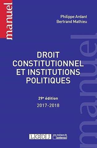 Droit constitutionnel et institutions
