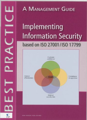 Implementing information security based on ISO 27001/ISO 17799: a management guide: Best Practice por Alan Calder