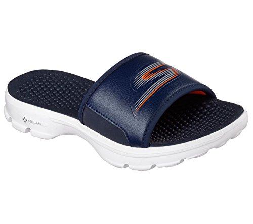 Skechers Gowalk Stroll scorrere Sandalo Navy/White