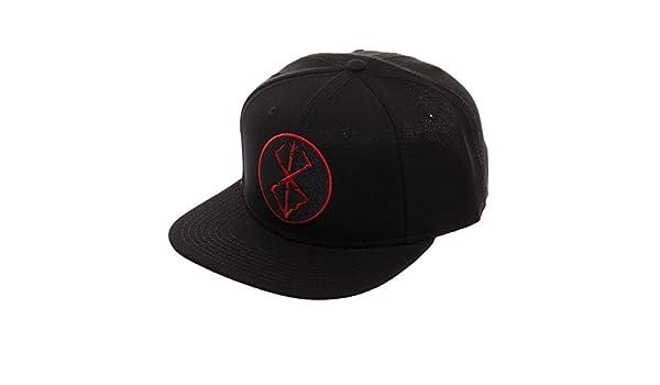 Berserk Embroidered Brand of Sacrifice Stigma Snapback - Dad Hat Baseball  Cap Baseball Hat  Amazon.co.uk  Clothing c5b4ff629b8d