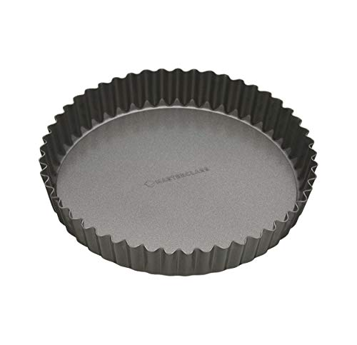 "MasterClass Non-Stick Fluted Flan Tin / Quiche Pan with Loose Base, 23 cm (9"")"