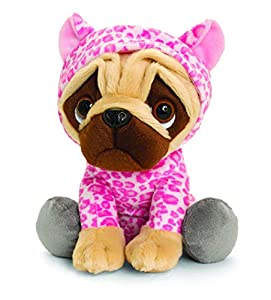 Keel Toys SD2498 - Juguete Suave, Color marrón y Rosa