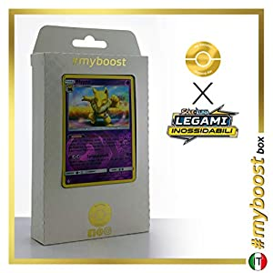 my-booster SM10-IT-72HR Tarjetas Pokémon