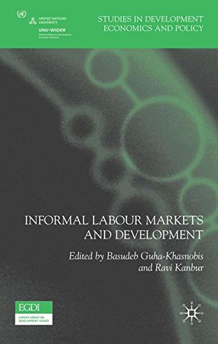 Informal Labour Markets and Development (Studies in Development Economics and Policy)