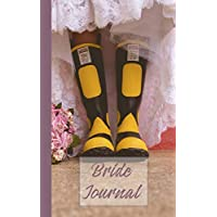 "Bride journal: 5 x 8"" Alternative Wedding Planning Journal to List the To-Do"