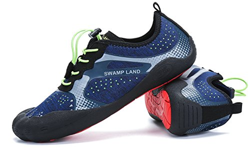 ec1cc64578 Homme Femme Chaussures Aquatique à Séchage Rapide Pieds Nus Plongée Piscine  Plage Marche Chaussettes de Sport