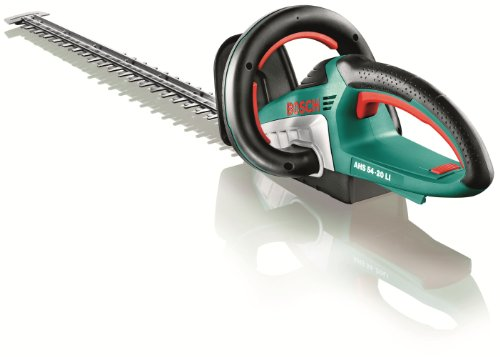 Bosch AHS 54-20 LI Cordless Hedge Cutter Without Battery and Charger, 540 mm Blade Length, 20 mm Tooth Opening Test