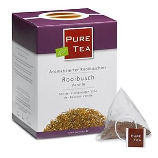 Rooibusch-Vanille–Pyramiden-Teebeutel