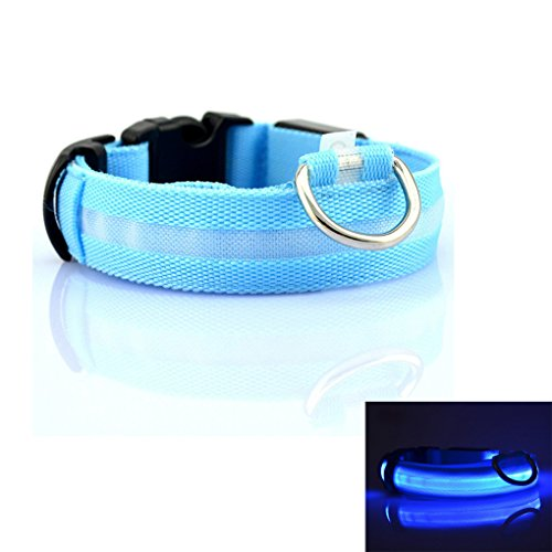 bao-core-pets-basic-safety-collars-led-flashing-enabled-nylon-collars-adjustable-size-s-m-l-xl-for-p