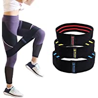 5BILLION Resistance Hip Bands - Premium Übungsbänder für Booty, Thigh & Glutes - Soft & Anti-Rutsch Design Loop Set