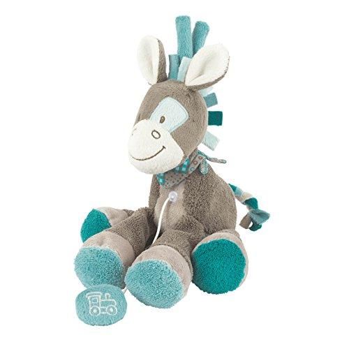 Nattou - Gaston Cavallo - Mini Pull Musical Molle Baby Toy 18 Centimetri