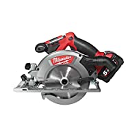Milwaukee 18 V Circular Saw 55 mm Fuel S/Bat