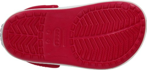 Crocs Crocband II Kids, Sabots mixte enfant Rouge (Raspberry/Black)