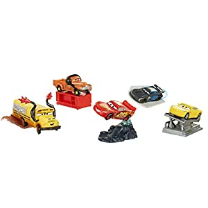 Jakks Pacific- Cars 3 Figuras,, Talla Única (71577)