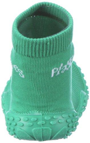 Playshoes Aqua-Socke Uni 174801, Scarpe da mare unisex bambino Verde (Grün (grün 209))