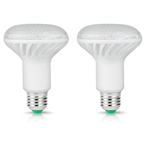 smartinliving 16W R80E27LED Reflektor Leuchtmittel, Entspricht 150W Glühbirne, 1500lm, warm weiß 3000K, 180° Abstrahlwinkel, nicht dimmbar, 220–240V, 2Stück