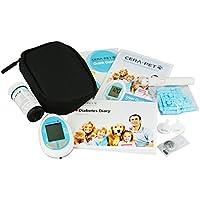 Medidor de glucosa en sangre especialmente calibrado para su uso en perros y gatos - Glucometro