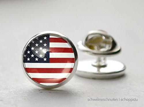 Pin Anstecknadel Amerikanische Flagge