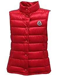MONCLER 0948Y Piumino Smanicato Girl Bimba Liane Red Jacket Ultralight