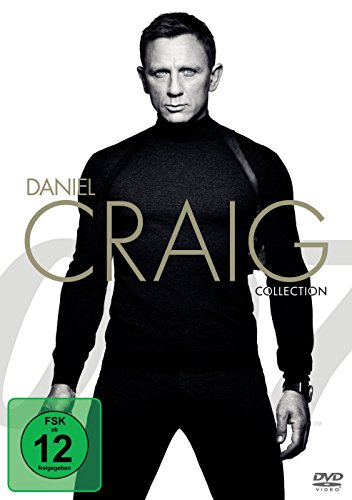 James Bond 007: Daniel Craig Collection inkl. Spectre [4 DVDs]