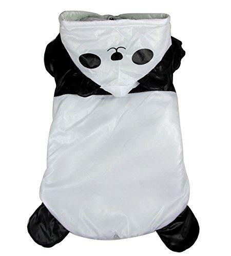 Winter Mäntel Medium Hund Kleidung Panda Kostüm für Hunde Hoodies (Scooby-halloween-kostüme)
