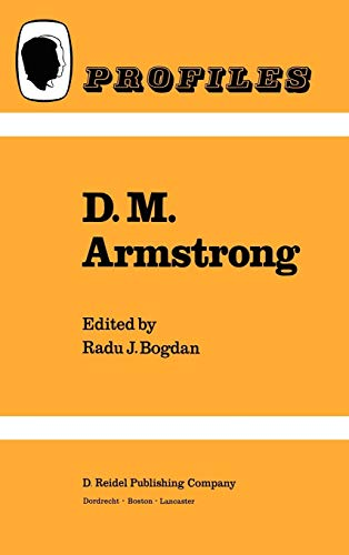 D.M. Armstrong (Profiles, Band 4) -