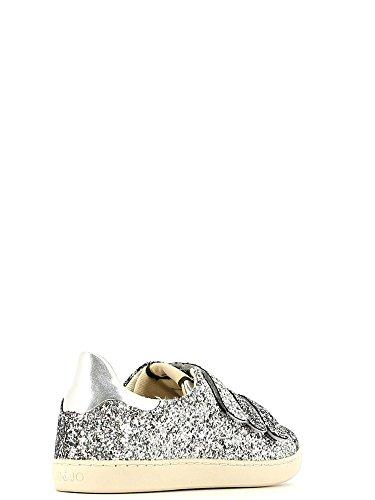 LIUJO Damen Sneaker Silber / Schwarz